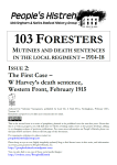 103 Foresters Issue 2 Cover