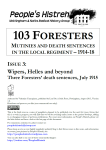 103 Foresters Issue 3 Cover
